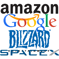 In the last 8 months, I have interviewed with Google, Amazon, SpaceX, Blizzard, and StackExchange