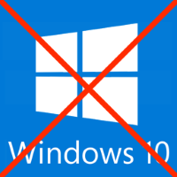 "Remove and disable ""Get Windows 10"" icon"